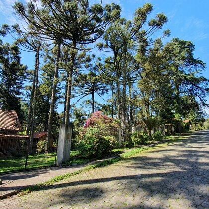 Lindo chalé com amplo terreno em Canela, na Serra Gaúcha