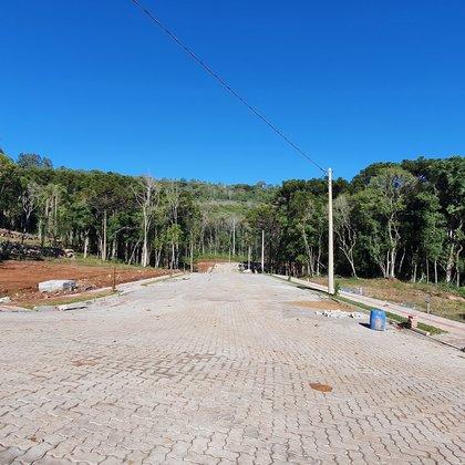 Loteamento BOSQUE DAS ARAUCÁRIAS, localizado no bairro Linha Imperial, Município de Nova Petrópolis-RS.