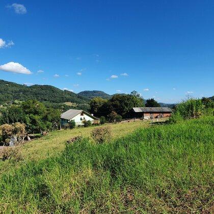 Terreno com bela paisagem em Picada Café, na Serra Gaúcha