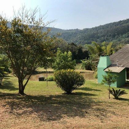 Sítio com açudes e casa de 2 quartos em Linha Nova, na Serra Gaúcha