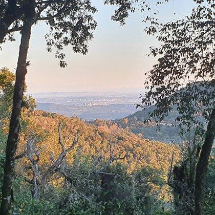Linda área com vista em Morro Reuter, na Serra Gaúcha