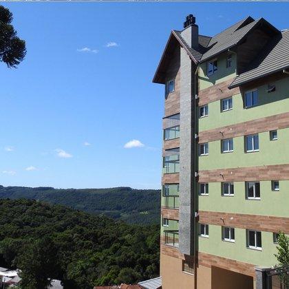 Residencial SUNRISE, apartamentos com 3 suítes e 188,00 m² de área privativa, localizado no centro do município de Nova Petrópolis-RS.