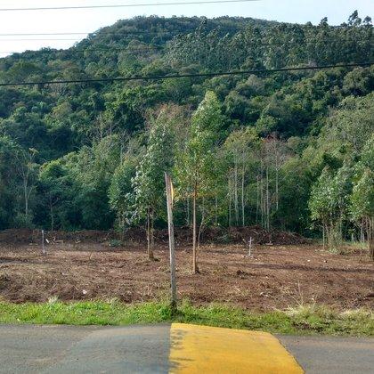Terreno com área de 596,15 m², situado no bairro Kaffee Eck, município de Picada Café-RS