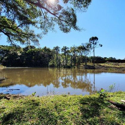 Área de terras com açude em Nova Petrópolis, na Serra Gaúcha