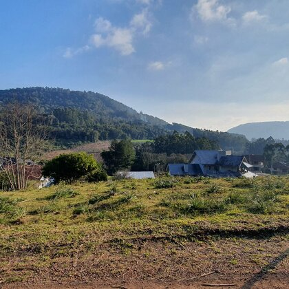 Terreno com linda paisagem em Picada Café, na Serra Gaúcha
