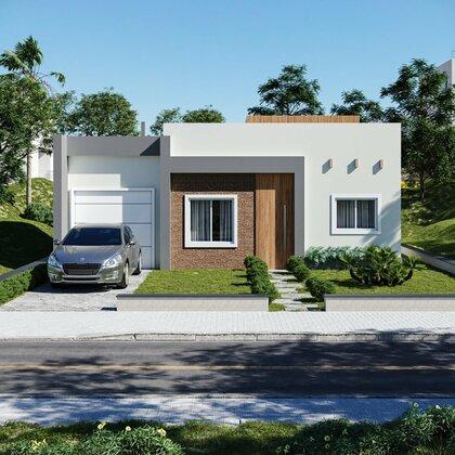 Casa térrea com suíte localizada em Nova Petrópolis na serra gaúcha.