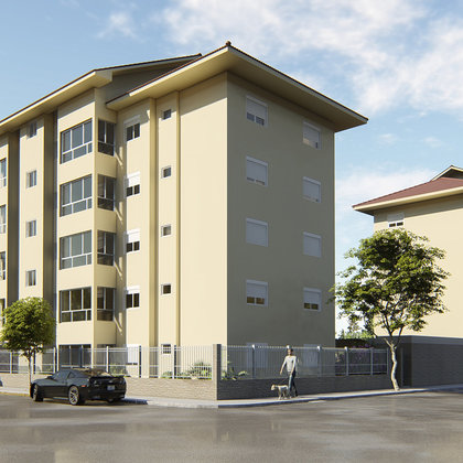 Residencial CAROLINA - Apartamentos de 2 dormitórios, localizado no bairro Pousada da Neve, município de Nova Petrópolis-RS.