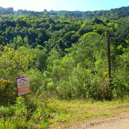 Área de terras junto ao rio em Nova Petrópolis na serra gaúcha