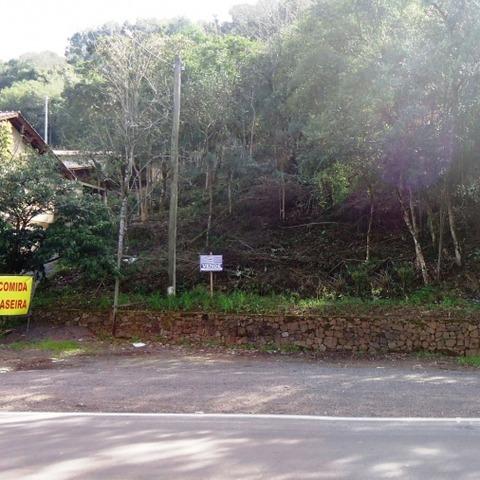 Terreno às margens da BR-116, localizado no Centro da cidade de Picada Café-RS.