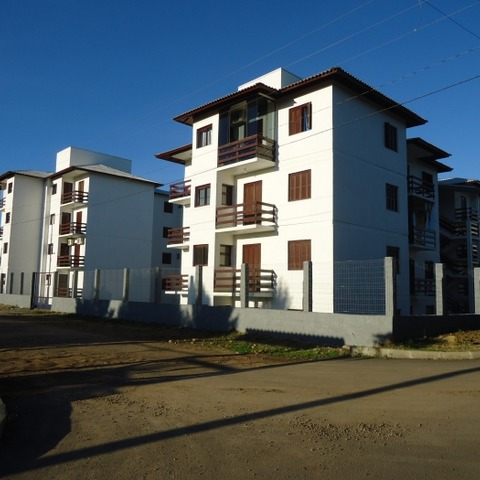 Apartamento térreo com 2 quartos localizado em Nova Petrópolis-RS