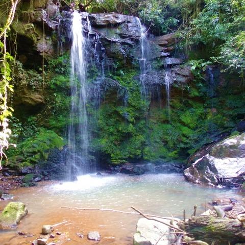 Sítio com casa estilo enxaimel e cascata em Nova Petrópolis na serra gaúcha